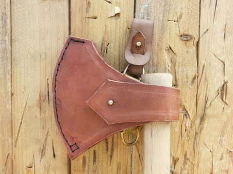 Leather Sheath for Cold Steel Norse Hawk