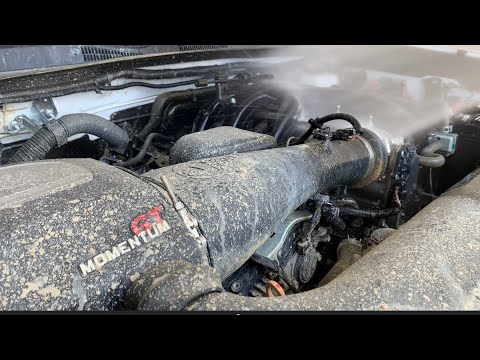 How to : Clean engine bay After Off Roading