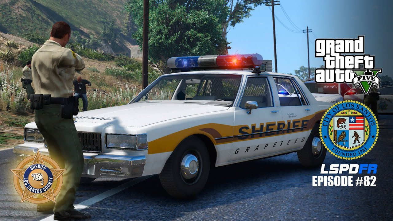 GTA 5 PC Mods: LSPDFR Episode #82 - Grapeseed Sheriff ...