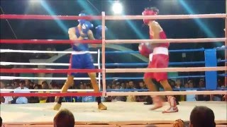 Palarong Pambansa 2016 Boxing Championship  Region XII versus Region XI Light Flyweight Division