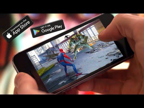 ТОП 5 Лучших ИГР ПРО ЧЕЛОВЕКА-ПАУКА НА Android/IOS