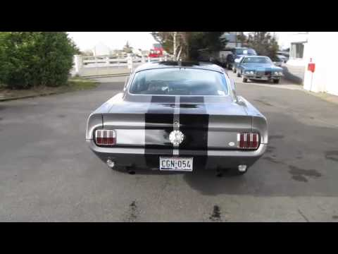 Eleanor Mustang Fastback 1965 Youtube