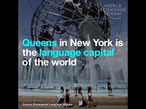 Queens in New York is the language capital of the world