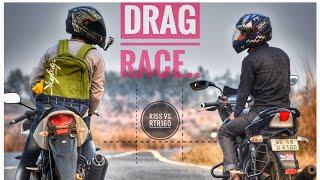 || YAMAHA R15S BS4 vs TVS RTR 160 BS3 Drag Race || Top END ||🔥 RufF Rider 🔥
