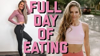 What I Eat In A Day + My Workout Split | VLOG 16
