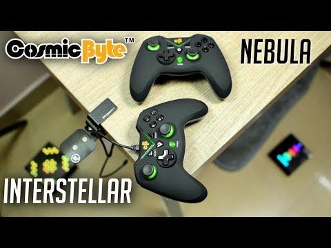 5e2a7ca2dd7 Cosmic Byte Interstellar/Nebula Gamepad - YouTube