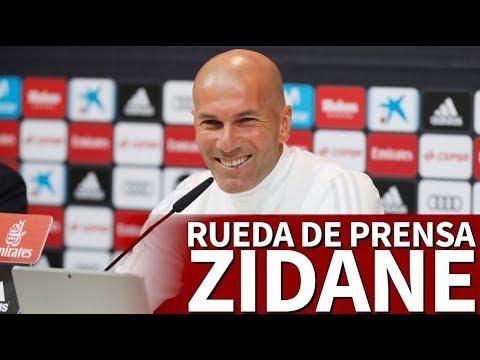 Real Madrid-Real Sociedad   Rueda de prensa previa de Zidane   Diario AS