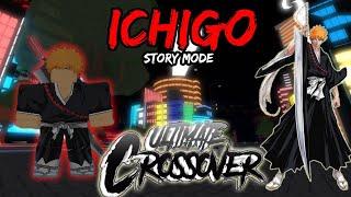MODE HISTOIRE ICHIGO! ROBLOX Ultimate Crossover - France Story Mode Scène 1