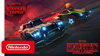 Rocket League - Haunted Hallows Trailer - Nintendo Switch