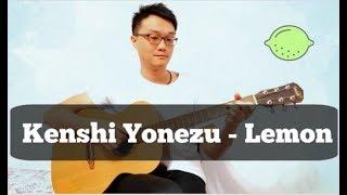 Kenshi Yonezu 米津玄師-Lemon acoustic guitar Fingerstyle solo by Barry