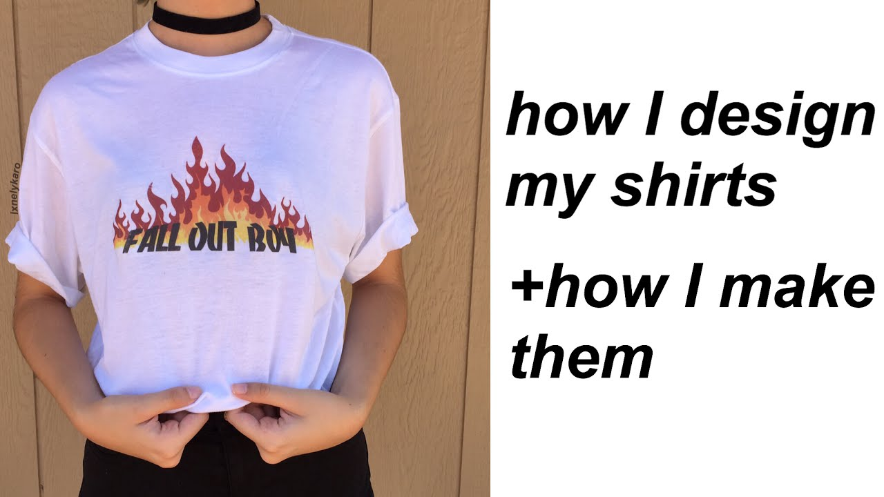 How To Make Your Own Band Tees You