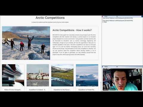 Introductory webinar on EDU-ARCTIC for new teachers