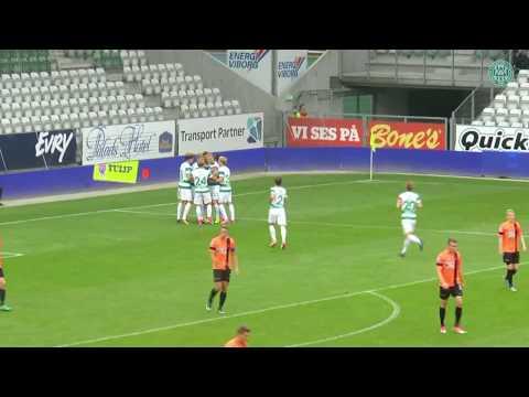 Se målene: Viborg FF - FC Roskilde 4-3