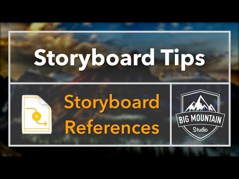 Storyboard Tips - Storyboard References (iOS, Xcode)