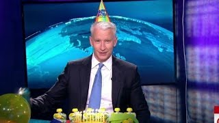 Anderson Cooper's RidicuList birthday surprise
