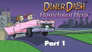 Diner Dash: Hometown Hero - Gameplay Part 1 (Level 1 to 4) Safari Café at the Zoo