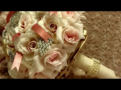 Best DIY Brooch Bouquet 2017/ GIVEAWAY with Totally Dazzled