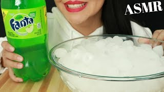 GREEN APPLE FANTA ~ EXTREME FIZZY & ICE EATING SOUNDS (No Talking) ASMR