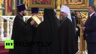 Kazakhstan: Putin visits Russian Orthodox Cathedral in Astana