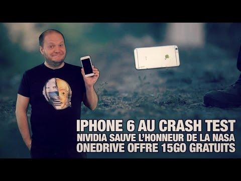 iPhone 6 à l'épreuve des chutes… volontaires