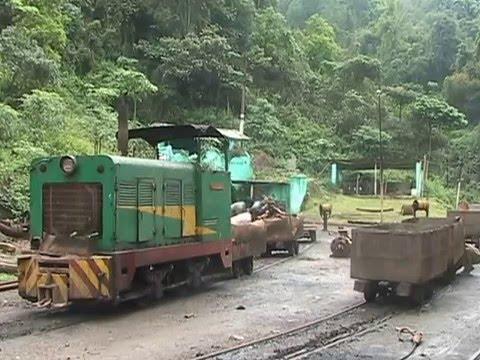 Steam of Tipong Coal Mines Railway  India(Apr.2008) 8 インド ティポン炭鉱鉄道の蒸気機関車(2008年4月) 8