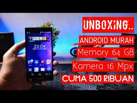 Unboxing Fujitsu F-06E - Android 500 Rban sudah Fingerprint dan Rom 64 GB