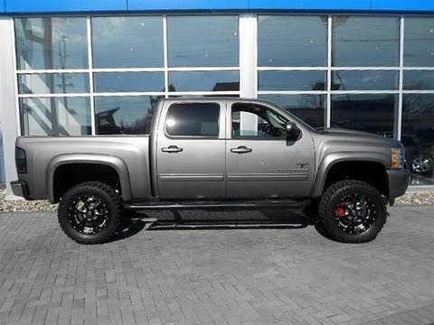 2013 Chevy Silverado Black Widow Lifted Truck by Southern ...