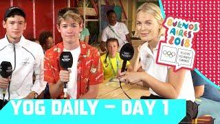 Max & Harvey at the YOG Daily Show | Day 1 | YOG Buenos Aires 2018