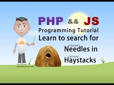 Needle in Haystack Tutorial PHP and JavaScript Array Programming