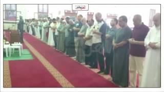 إقامة شعائر صلاة المغرب بمسجد 'العباسي' في بورسعيد (فيديو وصور)