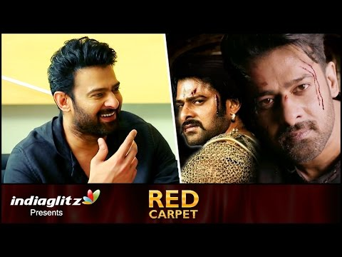 Thumbnail: Interview: Prabhas reveals his next is a Big Budget ACTION movie | About Baahubali 2 and Saaho Movie