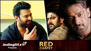 Interview: Prabhas reveals his next is a Big Budget ACTION movie | About Baahubali 2 and Saaho Movie