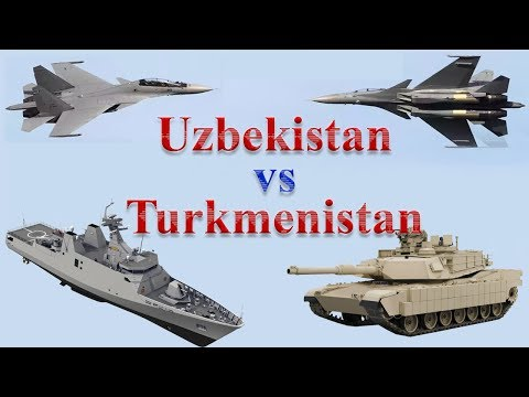 Uzbekistan vs Turkmenistan Military Power 2017