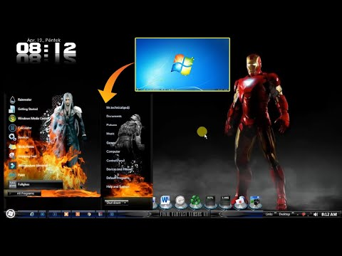 How To Install Windows 7  Full Themes | Install Windows 7 Themes In Your Computer