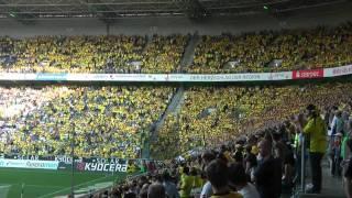 Stimmung Gladbach - Borussia Dortmund - Vor dem Spiel Mönchengladbach vs BVB 1-0