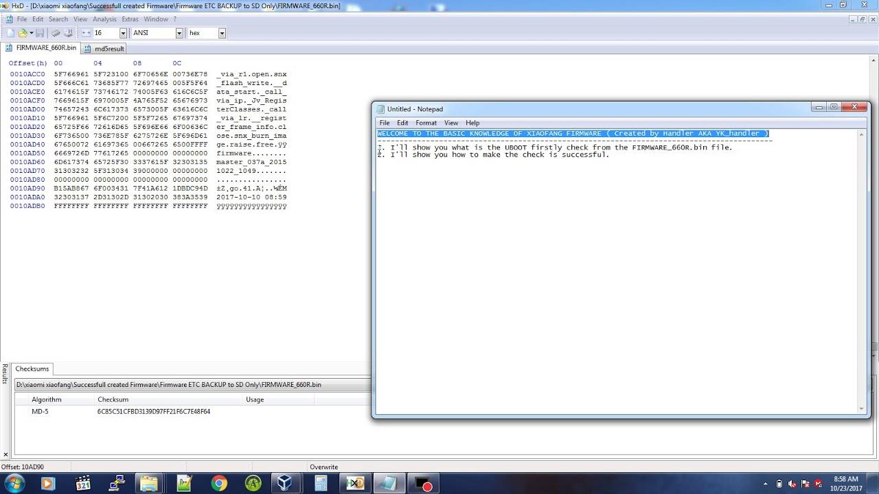 Creating xiaofang Firmware (Part 1)
