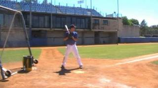 Max Brennan Hitting Side