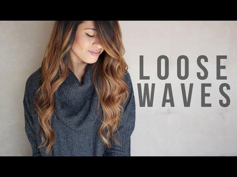 Loose Waves Tutorial How To Curl Long Hair Ariel Hamilton Youtube