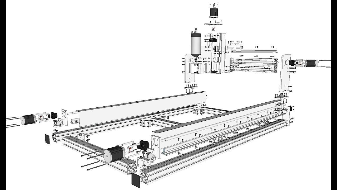 iD2CNC v.2.1 Machine Assembly Guide #1