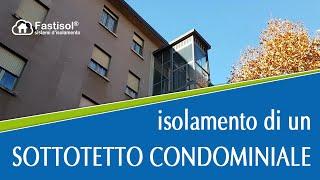 isolamento di un sottotetto condominiale