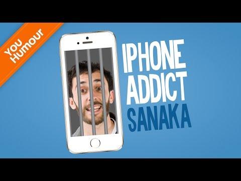 SANAKA - Iphone addict