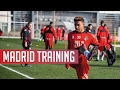 Training: AFC Bournemouth put through their paces at Real Madrid's training base