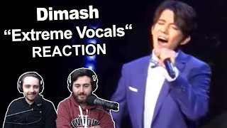 Dimash   Extreme Vocals  Nsane Range Singers Reaction