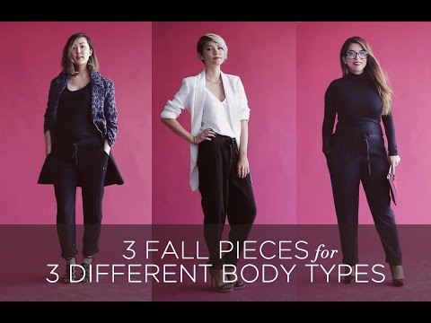 3 Fall Pieces for 3 Different Body Types