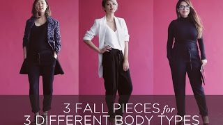 3 Fall Pieces for 3 Different Body Types Thumbnail