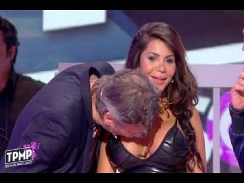 TOP VIDEOS (4) - Elle refuse un baiser , le chroniqueur l'embrasse sur les seins
