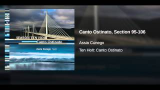 Canto Ostinato, Section 95-106