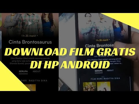Daftar Aplikasi Download Film Gratis Di HP Android