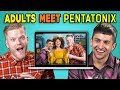 ADULTS REACT TO (AND MEET!) PENTATONIX
