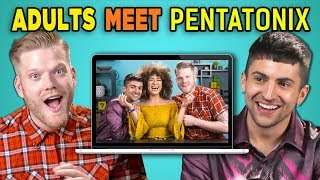connectYoutube - ADULTS REACT TO (AND MEET!) PENTATONIX